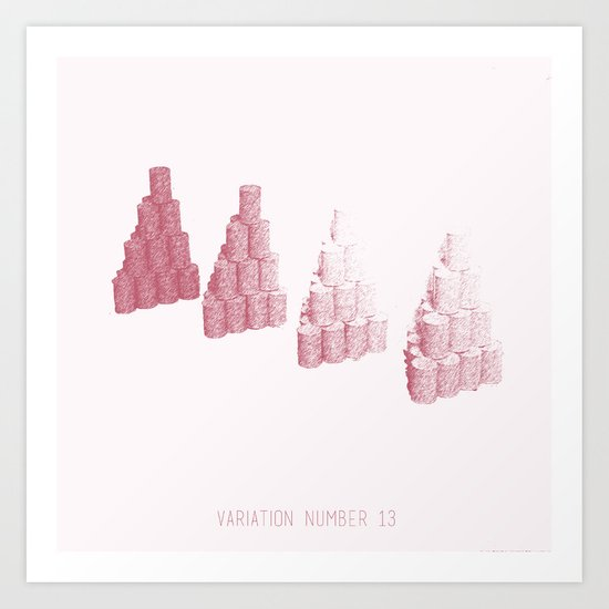 Variation Number 13 (sketch) Art Print
