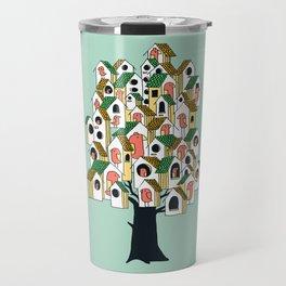 Bird houses Travel Mug