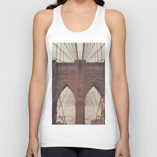 Moody Brooklyn Bridge by newyorkcityart
