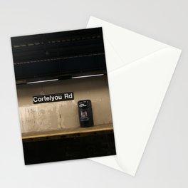 Empty Subway Stationery Cards