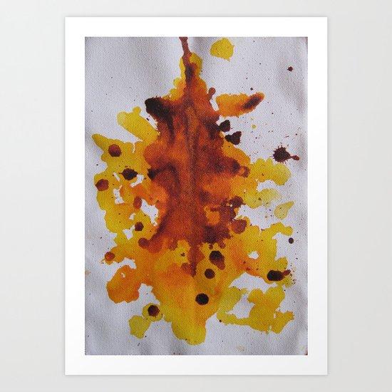Ink Blot  Art Print