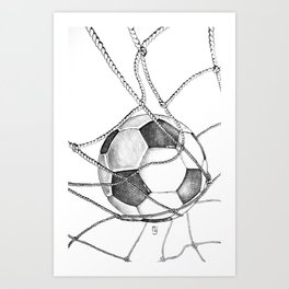 Goal! Art Print