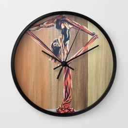 Inverted diamond Wall Clock