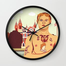 The Stowaway, Ellis Island Wall Clock