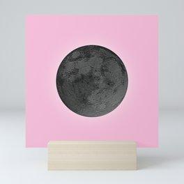 BLACK MOON + PINK SKY Mini Art Print