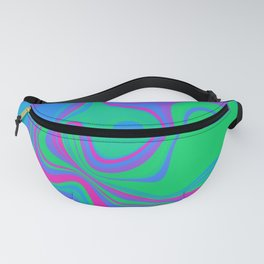 Polysexual Pride Abstract Mixed Colors Fanny Pack
