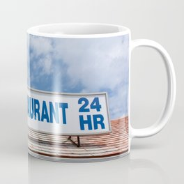 Open 24 Hours. Coffee Mug