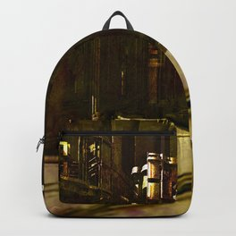 Spiritual Cathedral inner clock Backpack