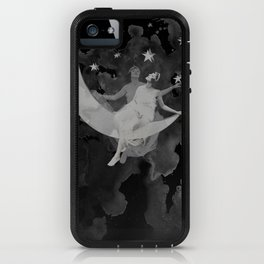 Ladymoon iPhone Case