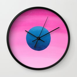 Planetary Wall Clock
