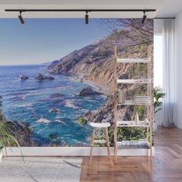 California Dreamin - Big Sur Wall Mural