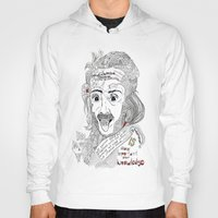 einstein Hoodies featuring Einstein by Ina Spasova puzzle