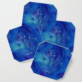 Constellation Aquarius Coaster