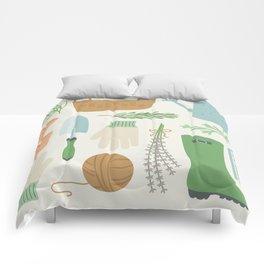 Herb Garden Comforters