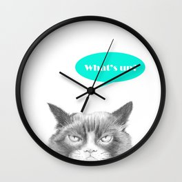 Peekaboo, I see you! Wall Clock