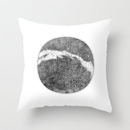 Star Map Throw Pillow