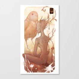 Fairy and Bird Canvas Print