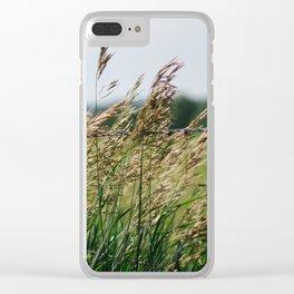 South Dakota Field Clear iPhone Case