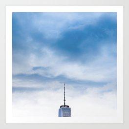 Top of New York Art Print