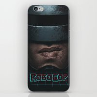 robocop iPhone & iPod Skins featuring RoboCop by yurishwedoff
