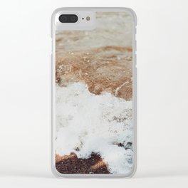 Shore Break Clear iPhone Case