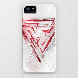 Abstract Logo Design iPhone Case
