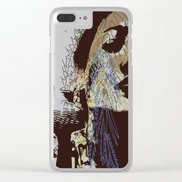 whispered cries can no longer hush Clear iPhone Case