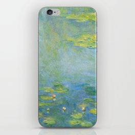 "Claude Monet ""Water Lilies"" (10) iPhone Skin"