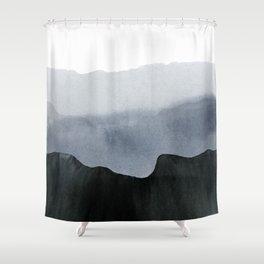 mountain horizon 2 Shower Curtain