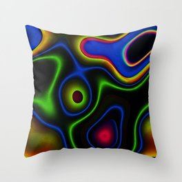 Vibrant Fantasy 6 Throw Pillow