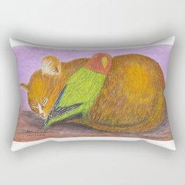 Peace and love Rectangular Pillow
