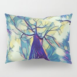 Forest in perspective Pillow Sham