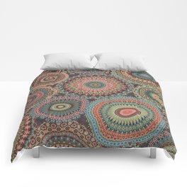 Boho Patchwork-Vintage colors Comforters