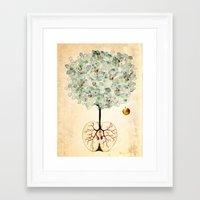 tree of life Framed Art Prints featuring Life Tree by Paula Belle Flores