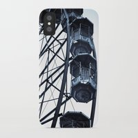 ferris wheel iPhone & iPod Cases featuring Ferris Wheel by 'Stuffy'