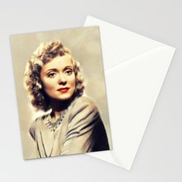 Martha Scott, Vintage Actress Stationery Cards