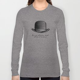 Waiting for Godot - We Are All Born Mad Long Sleeve T-shirt