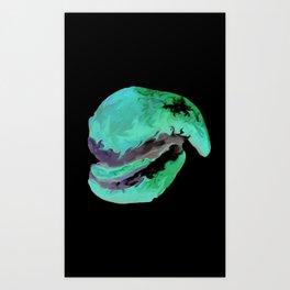 Ceramic Jaw Art Print
