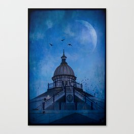 Camera Obscura - Eastbourne Pier Canvas Print