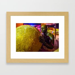 Inclined Framed Art Print