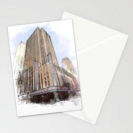 Radio City Music Hall Stationery Cards