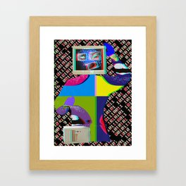King of Computer  Framed Art Print