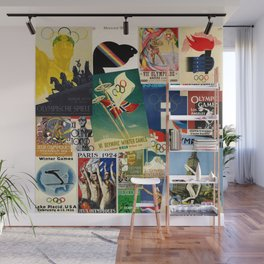 Olympics Montage Wall Mural