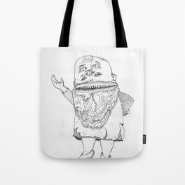 BOOGER KING. Tote Bag