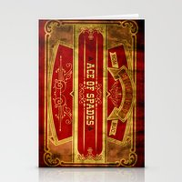 ace attorney Stationery Cards featuring Ace by Ace of Spades