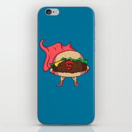 Hamburger Heroes iPhone Skin