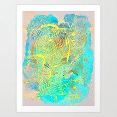 light magic Art Print