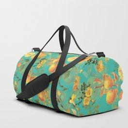 Vintage & Shabby Chic - Summer Golden Apples Flowers Garden Duffle Bag