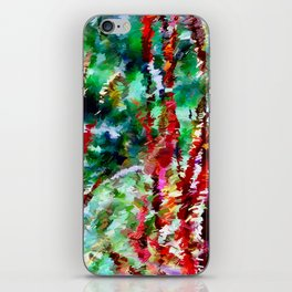 Autumn Grasses Abstract iPhone Skin