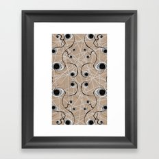 Knot Pattern Framed Art Print